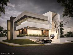 Bosque Alto House  #architecture #modern #facade #contemporary #house #design