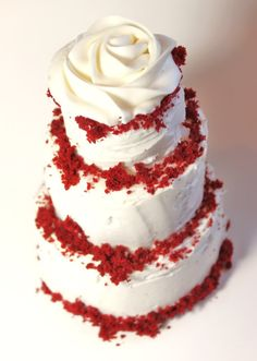 How to Make a Southern Red Velvet Cake | I love Red Velvet!    I think the main reason I love it, it the color.  I really love red.  Is that a shock?  I didn't think so.  I do really love the wonderful taste of red velvet, but I like to taste the cocoa, it can't be hiding.  By: Diane  From: createdby-diane.com