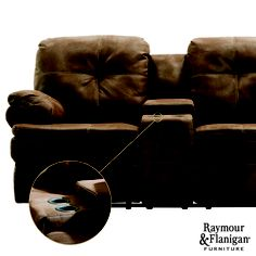 Marsden Reclining Loveseat | Never again will you have to worry about losing your seat. A reclining loveseat has room for two.
