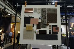 Inspiration board. Embellish with metallics. Interface stand. #2016sff #design #interiordesign