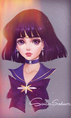 Sailor Saturn by yayoi