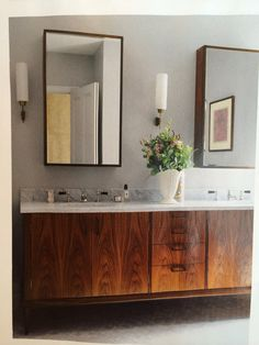 Vanity unit for bathroom - was antique conversion