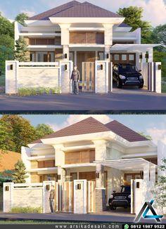 desain rumah type 54-60, arsitektur rumah bali modern