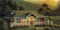 This lovely Vacation Homes style home with Small House Plans influences (House Plan #138-1187) has 809 square feet of living space. The 1 story floor plan includes 1 bedrooms.