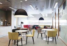 Iluminación oficinas escandinavas