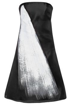 Vera Wang Printed silk-gazar dress - was $1620.0, now $729.0 (55% Off) @ Outnet.com
