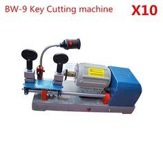 978.00$  Buy here - http://alihqw.worldwells.pw/go.php?t=32709109859 - 10pcs/lot Multi fuctional chucking BW-9 Key Duplicating Machine Vertical Key Cutter Defu Locksmith 220v/50hz  978.00$