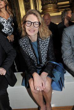 Natalia Vodianova Front Row at Stella McCartney