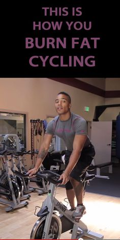 Simple tips on how to burn fat while on the bike.