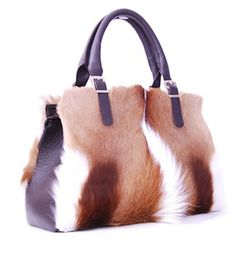 www.rarity.co.za- Angelina Springbok Handbag