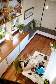 Aerial View - Portal by The Tiny House Company
