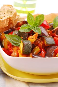 Ratatouille in the Crock Pot