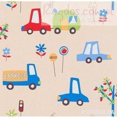 Tapeta Erismann Lotta Pojazdy Samochody Auta 7349-08 - RegDos - Tapety