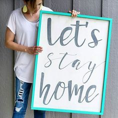 """Homebodies Unite ✌️ - - - so the other day my kiddo says """"hey mom, we should make this house like our last house, with pictures and words on the walls and stuff like that"""" - when a 13 yr old boy is requesting home decor, you know it's time to start cranking some out  #newhousewoes #itsbeenayear #werestillbuilding #BuildingBeyelerHollow"""