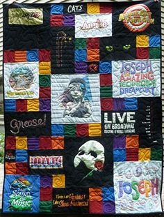 T-shirt Quilt idea for Taylor