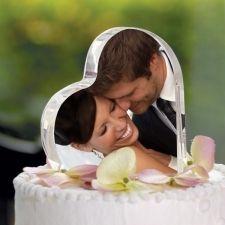 Foto Taarttopper  *bruiloft*  Verkrijgbaar bij action