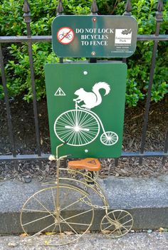 "Rich Squirrels Be Like: ""But The Sign Said Nothing About Penny-Farthings, Officer"""