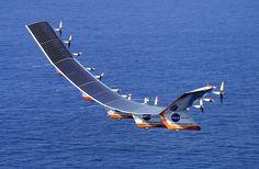 Helios in flight
