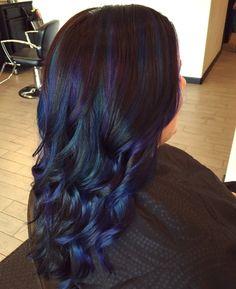 Peacock Hair Color Ideas