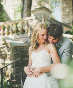 Light blue Nashville wedding at Cheekwood Botanical Gardens | The Pink Bride www.thepinkbride.com