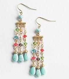 Lauren By Ralph Lauren Beaded Chandelier Earrings