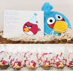 This site has the coolest party ideas! I love this Angry Birds b-day party.  thinking of doing this