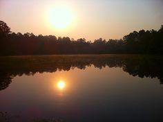 Lake Laurel In Milledgeville, Georgia