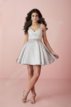 Balletts Bridal - 23501 - Prom by Jacquelin Bridals Canada - This dress has  lace appliqués 97af693c8e7e