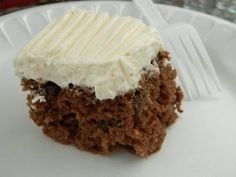 Seeking Sweetness in Everyday Life - CakeSpy - Raising the Bar: Apple Walnut Bars with Cream Cheese Frosting Recipe