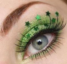 DIY Halloween Makeup : Crystalled Lime