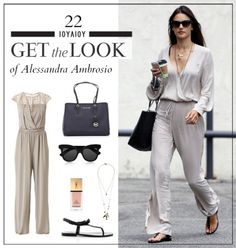 Get the look: Το μοντέρνο πρωινό look της Alessandra Ambrosio