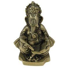 Amazon.com: Religious Gift God Ganesha Brass Statue Sculpture Hindu Size: 2.25 X 2.25 X 4 Inches: Home & Kitchen