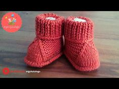 # 41 Einfachstes Baby Booties Modell – Strickmuster / Gestrickte Baby Boots – My CMS Knitted Baby Boots, Knit Baby Shoes, Knitted Booties, Baby Booties, Knitted Hats, Baby Hats Knitting, Baby Knitting Patterns, Crochet Patterns, Tricot Simple