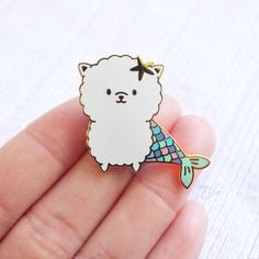 PoMERMAIDian - Hard Enamel Pin by FromJae on Etsy