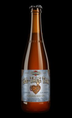 "Tell Tale Tart ""The subtle acidity of Tell-Tale Tart is answered by a soft, biscuity malt character, making this a sour ale that suggests, rather than announcing its tartness."" Boulevard Brewing Company, Kansas City, MO (12oz 6.2%) July 2015"