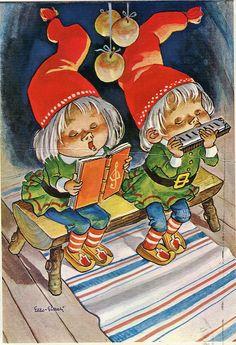 Joulukortti, 70-luku (Eero-Einari Nummela)