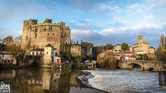 Old Castle by aliey photo, via Flickr.  Clisson / Pays de la Loire / France