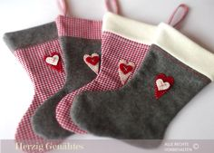 Christmas Stockings Xmas Decoration. €19.80, via Etsy.