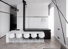 Loft interior design, łódź | TAMIZO ARCHITECTS