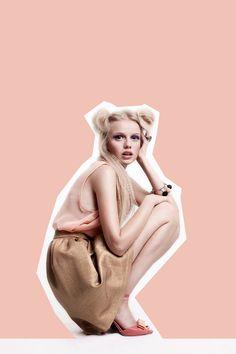 Foto: moonsafari.pl Modelka: Ola/Mokotoska Projektant/Stylizacja: Edyta Kaczyńska Buty: Fun in Design Włosy: Ciach Fryzjer Make-up: Grzegorz Łastowiecki