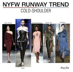 """NYFW Runway Trend : Cold Shouder"" by nindi-wijaya ❤ liked on Polyvore featuring NYFW and NYFWTREND"