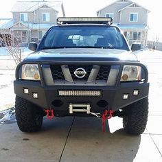 Xterra InSain LED front bumper - Tap The Link Now To Find Gadgets for your Awesome Ride Nissan Xterra, Nissan Xtrail, Nissan Trucks, Nissan Infiniti, Suv Trucks, Nissan Titan, Truck Mods, Car Mods, Frontier Truck