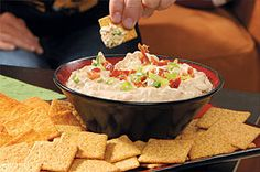 Bacon and sour cream give this recipe for Smokin' Chipotle Bacon Onion Dip a smoky, tangy appeal.