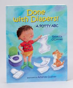 Take a look at this Done with Diapers! Board Book by Book Boutique on #zulily today!