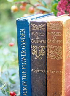 Suzie Gibbons, flowerpower pictures, photographer specialising in horticultural, garden photography and garden features. Old Books, Vintage Books, Antique Books, I Love Books, Books To Read, Gardening Books, Vintage Gardening, Book Nooks, House In The Woods