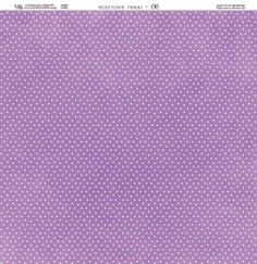 Papier 30x30 - Fioletowe Fiołki 06 - Galeria Papieru Na-Strychu
