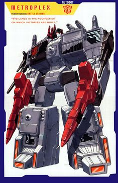 Transformer of the Day: Metroplex (Part 1)