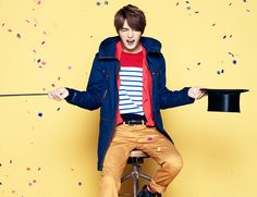 Its new fall campaign once again allows JYJ members Jaejoong, Junsu, and Yoochun