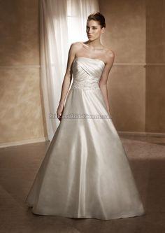 Mia Solano M1211L - Wedding Dress M1211L. View more online at www.PrincessBridalGowns.com.
