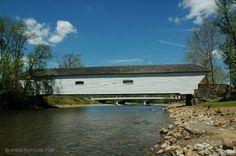 The covered bridge in Elizabethton, TN